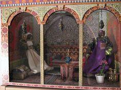 Moroccan room box