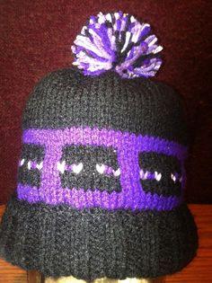 Pattern Minecraft Inspired Enderman Knit by BeckysCrochetShop32