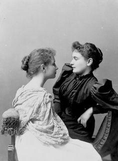 Anne Sullivan Seated With Helen Keller