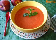 Gazpacho de nectarinas