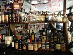 Wogies Bar in the West Village, NYC. #new york #nyc #alcohol #drinks #bar