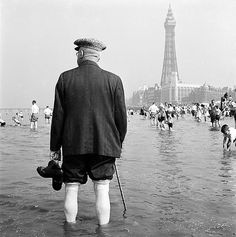 Blackpool, Lancashire by English Heritage Vintage Photographs, Vintage Photos, The Lavender Hill Mob, Blackpool England, Seaside Holidays, Nostalgic Images, British Seaside, English Heritage, Great Britain