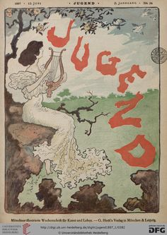 Jugend magazine cover, June 12, 1897