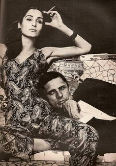 Harper's Bazaar, 1965 Richard Avedon & Naty Abascal in Ibiza