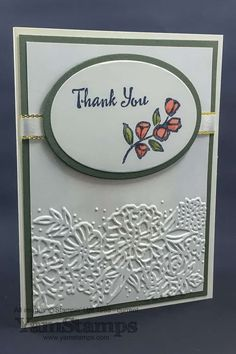 Petal Passion thank you card