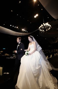 2013.08.10, Lee Byung Hun & Lee Min Jung on their wedding day