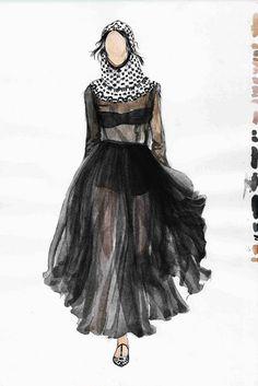 Fashion illustration for Dolce & Gabbana // Konstantin Bridts