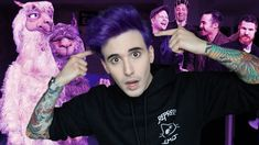 I DYED MY HAIR PURPLE FOR FALL OUT BOY?!