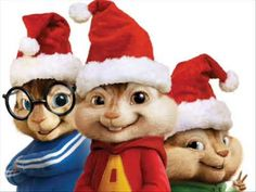 Alvin and the Chipmunks- We wish you a Merry Christmas