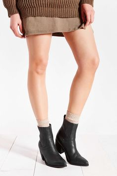 Jeffrey Campbell Bentley Distressed Bootie