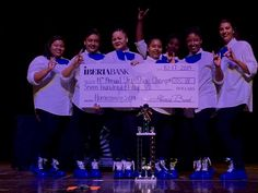 Congratulations to Lambda Gamma chapter who won 1st place at the 14th Annual Homecoming Step Show at McNeese State University! #ZPHIB — with Bianca King, Michkayla Marie, Ashley Lee, Zaner Cluse-Booty, Nicole Williams, Shalin Townsend and KaBria Alanda Morgan.