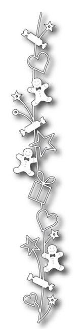 Memory Box - Die - Holiday Goodie Border,$14.49 98646