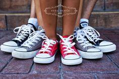 Rena Marie Photography, Shoe shot, Converse Shoe Shot, Family Shoe shot