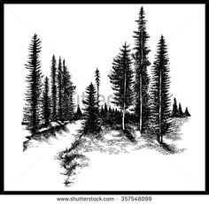 21 Savage Tattoo Removal Lovely Pin by Lindy Stephens On Tats & Piercings Tree Silhouette Tattoo, Forest Silhouette, Savage Tattoo, Wald Tattoo, Pine Tree Tattoo, Tree Line Tattoo, Tree Stencil, Stencils, Pointillism