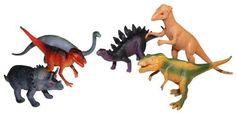 Amazon.de:Idena 4320102 - 6 Dinosaurier im Beutel, ca. 15 cm
