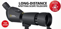 Heider PRO Zoom Land Teleskop and Heider Universal Metal Land Teleskop Kamera Adapter National Geographic, Photography 101, Long Distance, Outdoor Gear, Outdoors, Projects, House, Ideas, Tecnologia