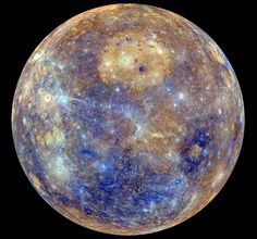 New images of Mercury as sent back from the Messenger space explorer