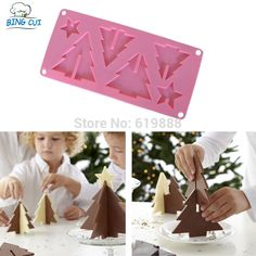 Cheap tool shaped cake pan, Buy Quality tool skateboard directly from China tool sealant Suppliers: 	  	  	Free Shipping 3D Christmas Tree Shape Chocolate Cake Silicone Mold Cake Decoration Tools Bakeware N0406