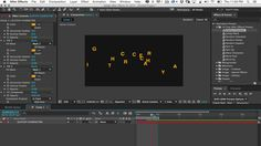 After Effects Tutorial: Using Presets