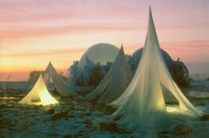 Recreating the Surreal Ice Sculptures of Heinz Isler Novel Structure, Shell Structure, Ice Castles, Ice Sculptures, Scenic Photography, The Real World, Installation Art, Surrealism, Indoor Outdoor