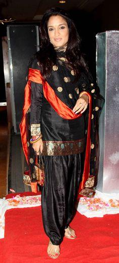 Sandhya Mridul at Siddharth Kannan's wedding reception.