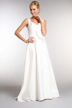 robe de marie en taffetas ivoire de la taille 36 au 60 de 299 - Tati Mariages