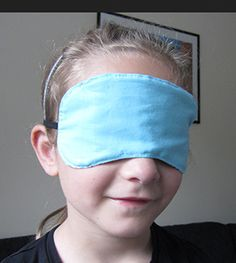 sleeping mask – DIY tutorial