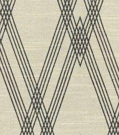 Nate Berkus Upholstery Fabric -Wareham Black and Bone Nate Berkus, Motifs Textiles, Textile Patterns, Upholstery Repair, Modern Upholstery Fabric, Bohemian Fabric, Black And White Fabric, Chair Fabric, Pillow Fabric