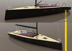 Endurance Sailing Boat Concept - Exterior Renderings