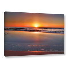 Sunrise Over Assateague by Steve Ainsworth Photographic Print on Gallery Wrapped Canvas