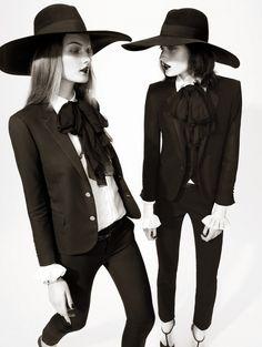 Marikka Juhler & Kirsi Pyrhonen in Harper's Bazaar UK photography by Tom Allen, styling by Cathy Kasterine. I would wear this in a heartbeat!