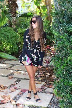 Black Florals & Neiman Marcus Event   VeryAllegra