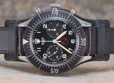 1970 Heuer Bund Flyback Chronograph