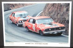 BATHURST 1972 Australian Muscle Cars, The Great Race, V8 Supercars, Ford Falcon, Hot Rides, Fun Shots, Ford Gt, Cars And Motorcycles, Touring
