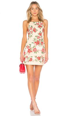 Finders Keepers Arcadia Mini Dress in Glow Floral | REVOLVE
