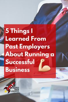 Getting a good mentor in a boss is awesome. Here's 5 lessons I learned from past employers about running a successful small business. via @pattitudez
