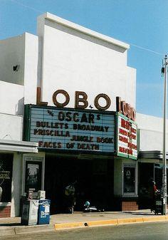 Lobo Theater - Albuquerque, New Mexico New Mexico Style, New Mexico Usa, New Mexico History, Then And Now Photos, Albuquerque News, Local Bands, Land Of Enchantment, Rocky Mountains, Old Photos