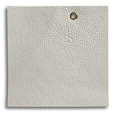 Edelman Leather Shagreen in White, SH17