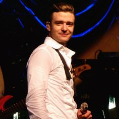 Justin Timberlake. He looks so cute here!