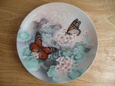 Monarch Butterflies Collectors Plate by Lena Liu