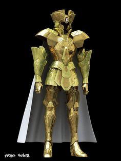 armadura real de saga de geminis