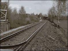 Awesome Train GIF