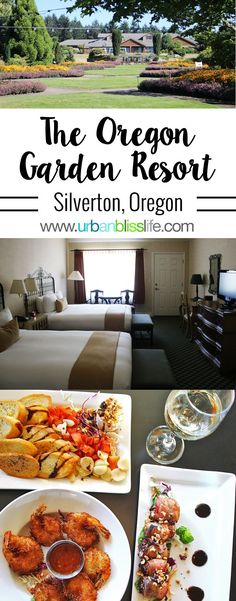 The Oregon Garden Resort in Silverton, Oregon is a tranquil getaway with rustic Pacific Northwest Charm, overlooking the stunning Oregon Garden. Mexico Travel, Hawaii Travel, Canada Travel, Travel Usa, Travel Photos, Travel Tips, Travel Guides, Oregon Garden, Best Family Vacations