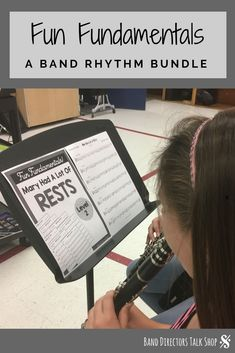 These are fun beginning band exercises that will help your music students become better sight readers! Liven up your beginning band classroom lessons with these rhythm exercises based on the Hot Cross Buns song. The band fundamentals pack is for teaching Music Lesson Plans, Music Lessons, Music Theory Games, Rhythm Games, Music Classroom, Music Teachers, Middle School Music, Band Director, Music Activities