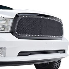 Fits for 2013-2016 Dodge Ram 1500 model.  E-Autogrilles Evolution Packaged Grilles include a black shell and black mesh to offer a high-end appearance with a ru