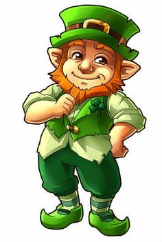 Saint Patricks Day Art, Happy St Patricks Day, Leprechaun Pictures, Fairy Pictures, St Pats, Muffin Cups, Art Clipart, Painting Patterns, Little People