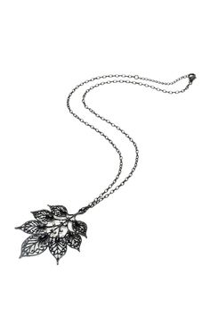 I love nature inspired jewelry...especially when it's trees or leaves. Amrita Singh Serise Pendant Necklace In Black - Beyond the Rack