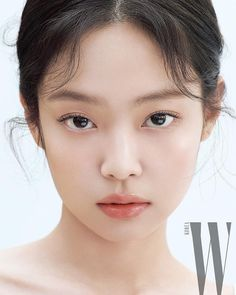 Blackpink Jennie - W Korea Magazine (February 2020 Issue). Kim Jennie, Makeup Inspo, Makeup Inspiration, Korean Makeup Look, W Korea, Blackpink Photos, Look At You, Ulzzang Girl, Natural Makeup
