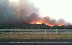 photos of the yanell, az. fire   ... 17 near Yarnell, Arizona   Arizona wildfire kills 19 - Yahoo! Sports