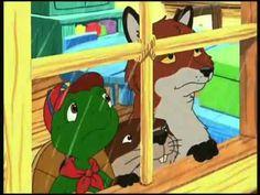 Franklin la tortue - J'aime pas la pluie.  Pour faire la recherche sur ces dessins animés, sur youtube, inscrivez Franklin part 1...2...3...